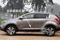 Wholesale KIA Sportager High quality ABS Chrome body side moldings side door decoration