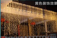 ac activities - Christmas lights wedding activity background layout window decoration products M M led water waterfall LED holiday lights series