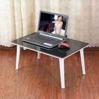 Cheap Tiger Dad simple folding bed laptop desk computer desk desk lazy student desk table