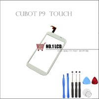 Cheap Wholesale-Original White Touch Screen For Cubot P9 Touch Panel Perfect Repair Parts For Cubot P9 Smartphone Free Shipping + Tools