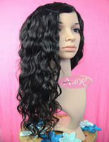 Wholesale Brazilian Human Hair Lace Front Wigs Color B Natural Wave Wigs For Black Women