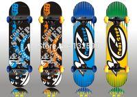 Wholesale Skateboarding professional skateboard Skate scooter adult brush street skateboard vitality double up four rounds