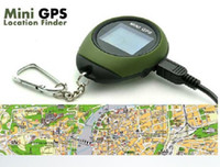 Wholesale Mini Handheld GPS POI Outdoor Sport Navigation Tracker Keychain Mini GPS tracker Navigation USB Rechargeable For Outdoor Sport Travel
