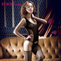 Cheap 2015 hot black temptation corset lingerie for women net high quality erotic costume sleepdress nightgowns sexy pijamas shirt onesies