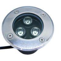 Wholesale 1PC LED Underground Light W LM IP68 Waterproof Outdoor Garden Floor Lamp RGB White Warm White Red Green Blue
