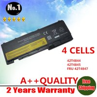 Wholesale New cells Laptop Battery For ThinkPad T420s T420s A13 T420si T4844 T4845 FRU T4847