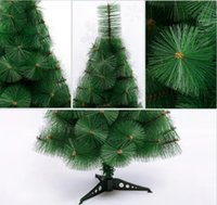 plastic ornament - 60cm Mini Christmas Tree Artificial DIY Plastic Xmas Decoration Holiday Santa Tree Ornament Fairy