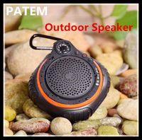 audio led indicator - AJ94 FM LED TF temperature indicator Wireless Outdoor Waterproof Bluetooth Speaker Outdoor Sports waterproof Mini Subwoofer