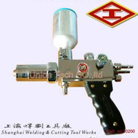 Wholesale High Speed Flame Spray Gun oxygen Acetylene Flame welding torch Painting Metal Alloy Powder to Welding repair plate surface