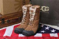 Wholesale Female boots fur Soft and comfortable Color sand color chestnut color brown black Size