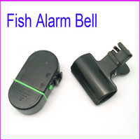 Wholesale 100pcs Outdoor Cooking Fish Alarm Bell Electronic Bite Fishing finder Rod Pole with LED light Dropshipping