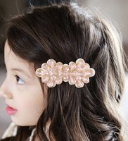 Wholesale Children s Hair Accessories Girls Hair Accessories Nail Bead Bowknot Hairpin Baby Model