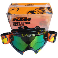 atv helmets - 2016 New Arrival KTM Motorcycle Goggles Professional KTM Motocross Helmet Racing Glasses Dirt Bike ATV MX Goggles