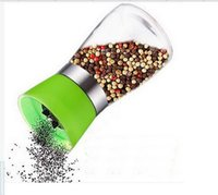 Wholesale Pepper grinder manually ceramic core cruet condiment jar kitchenware pepper mills device