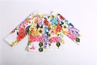 best unique christmas gifts - Magnetic Unique Girl Floral Coat Baby Clothes Kids Magnetic Elegant New England Noble Style Fashion Cute Best Slim Christmas Gift