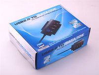 cd ide converter adapter - SATA PATA IDE Drive to USB Adapter Converter Cable CD ROM supported With Power Supply