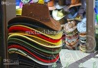 army hard hats - Women Mans Cowboy Hat Multi Color Hard Cowboy Cap