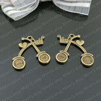 antique cart - Fashion Jewelry Findings Accessories charm pendant Alloy Antique Bronze MM Shopping Cart DIY jewelry making