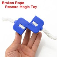 Wholesale Magic Broken rope reduction See larger image Cut Restore Rope Easy Magic Trick illusion Magic Prop Toy Magic rope
