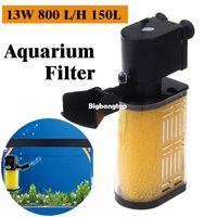 Wholesale 1509 Super Biological Internal Filtro Acquario W L H L Sponge External Fish Filter Sock For Aquarium Tank Filtration Pump