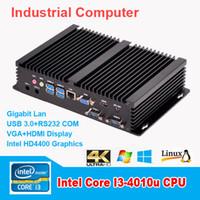 Wholesale New G RAM G SSD PC Mini ITX Industrial Computers Intel Core i3 Haswell Processor G HDMI Ultra HD k Gigabit LAN WIFI USB3