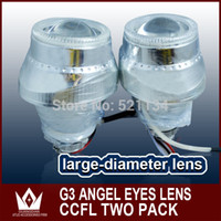 Cheap Free Shipping for G3 HID BI-XENON Projector Lens Light CCFL with H1 H4 H7 H13 9004 9005 9006 HID xenon bulb 4300k - 12000k