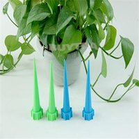Wholesale 2015 New Delicate Plant Flower Waterers Cheap Bottle Irrigation System Garden Cone Watering Spike Hot Sale