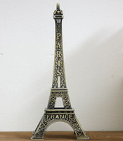 Wholesale 70 cm Paris Eiffel Tower bronze metal craft decoration model gift Home Furnishing wedding decor supplies