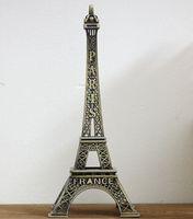 Wholesale 70 cm Paris Eiffel Tower bronze metal craft decoration model gift Home Furnishing wedding decor supplies