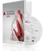 Wholesale New Autodesk AutoCAD English software PVC Color Box Package