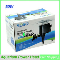 Wholesale SOBO W Multifunctional Aquarium Submersible Pump Compatible Top Filter Water Fish Tank Power Head V L H