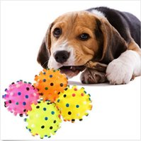 Wholesale 2015 New Hot Pet Products Toys Lovely Pet Cat Dog SuppliesToy Ball Squeaker Quack Sound Ball
