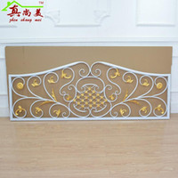 wrought iron fence - Wrought iron fence fence wave handrail balcony window european style indoor rural white wrought iron partition