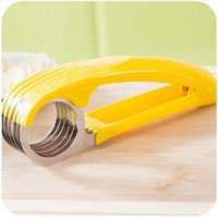 banana chip machine - Hot Sale Banana Slicer Kitchen Supplies Fruit Knife Slicing Chips Tool Useful Slicing Machine