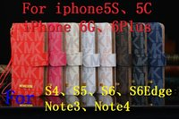 Wholesale Galaxy S6 Cases New Items Luxurious Leather For iphone s Plus Samsung Galaxy S6 Edge With The Cardholder s Purse