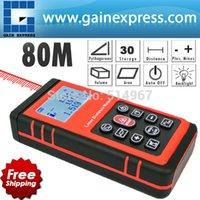 Wholesale quot Smart Sensor quot Digital Laser Range Finder Distance Meter w mm accuracy length area volume width clearance pythagorean