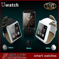 Cheap U10 Bluetooth Smart Watch WristWatch With 1.54'' Touch Screen Sync Call SMS Pedometer For Smartphone Samsung iPhone HTC Android 4pcs up
