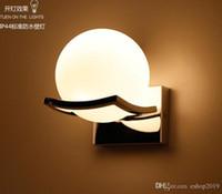 Wholesale 2016 new Modern Minimalist Bathroom Waterproof Wall Creative Hall Warm Light Garden Lamp Wall Lights Wall Light