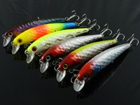 Wholesale 6pcs g cm Lead bait bent minnow fishing lures iscas big minow lure swimbait Winter fishing tackle sea bass Fresh Salt water