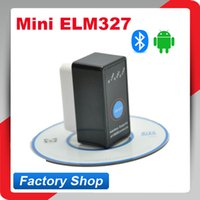 Wholesale Super Mini ELM327 V2 Bluetooth ELM OBD2 OBD ii CAN BUS Diagnostic Car Scanner Tool Switch Works on Android