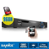 Wholesale SANNCE CH Digital Video Recorder H HDMI DVR Security CCTV Surveillance with TB HDD A5