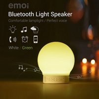 bass lamp - Original emoi Smart Lamp Bluetooth Bass Speaker be touched by light and sound support TF home decorative touch sensor APP Lamp