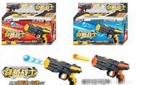 Wholesale Soldiers crossing water may emit Crystal bomb soft bullet gun pistol bullet shells gun children s toys