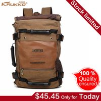 Wholesale FH09 Kaukko new fashion Top Selling Canvas Multifunction Bag for Unisex men women s Travel Backpack