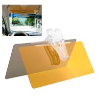 Wholesale Hottest in Car Anti Glare Sunshade Day Night Vision mirror Glare Driving Clip Sun Visor HD Auto Accessories