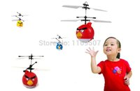 Wholesale Hot sale RC helicopter Flying Saucer Birds toys Infrared Induction boy toys RC Helicoptero Remote Control toys Drones kids toys