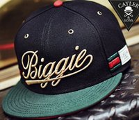 Wholesale 2015 Brand New HI HATER Adjustable Sport BIGGIE Snapback Snap back Hats Basketball Caps Hats