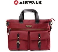 airwalk - AIRWALK TimeWalker inch laptop bag tote bag briefcase shoulder women messenger bags