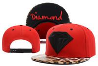 baseball diamond size - Diamond Snapback hats baseball hat hiphop classic regulate the influx of hip hop hat Size Adjustable high quality men women hat