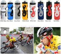 Wholesale Portable Plastic Outdoor ml Mountain Bike Bicycle Cycling Sports Water Bottle with Straw Lid good quality price